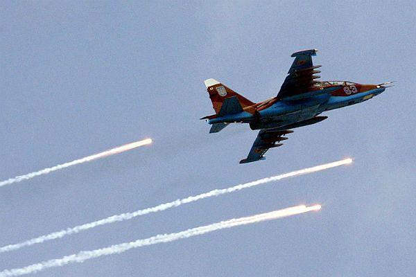 MON Ukrainy: separatyści zestrzelili dwa ukraińskie myśliwce