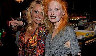 Pamela Anderson w kampanii Vivienne Westwood