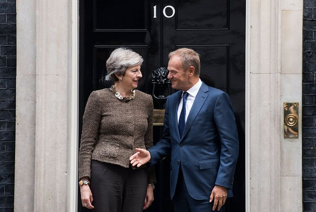 """Donald Tusk po spotkaniu ws. Brexitu. """"Kończy się filozofia, że można zjeść ciastko i mieć ciastko"""""""