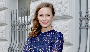 LOOK OF THE DAY: Monika Mrozowska w sukience Zary