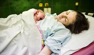 Większość kobiet ceni sobie możliwość rodzinnych porodów.