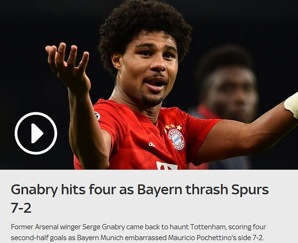 Tottenham Bayern