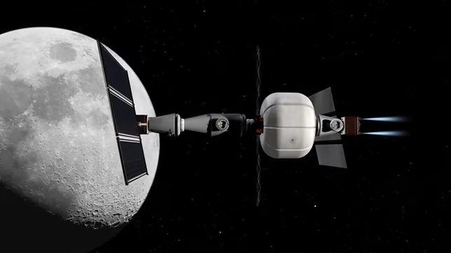 Nowy projekt statku kosmicznego.