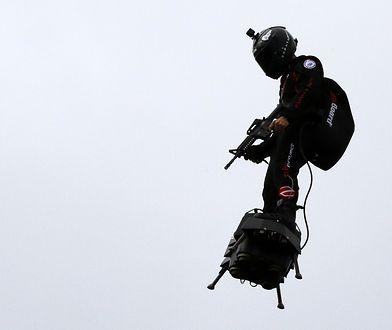 Flyboard to wynalazek sportowca - Franky'ego Zapaty