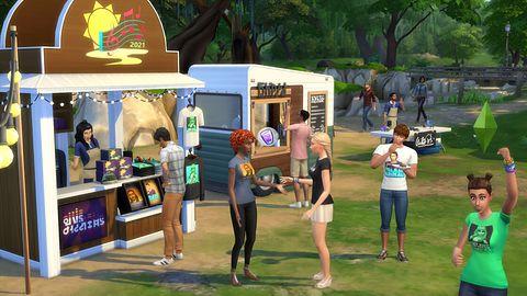 Festiwal muzyczny w The Sims 4. Wystąpią prawdziwy artyści.