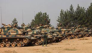 Tureckie czołgi w Syrii