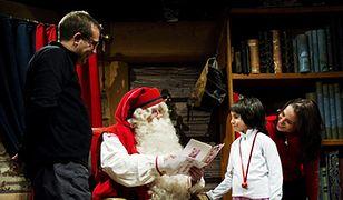 W biurze Świętego Mikołaja
