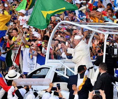 """Panama: Papież Franciszek otworzył Światowe Dni Młodzieży 2019. """"Miłość Boga nie upokarza ani nie zniewala"""""""