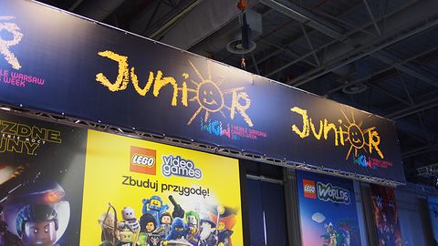 Coś dla najmłodszych na T-Mobile Warsaw Games Week, strefa Junior zaprasza #WGW