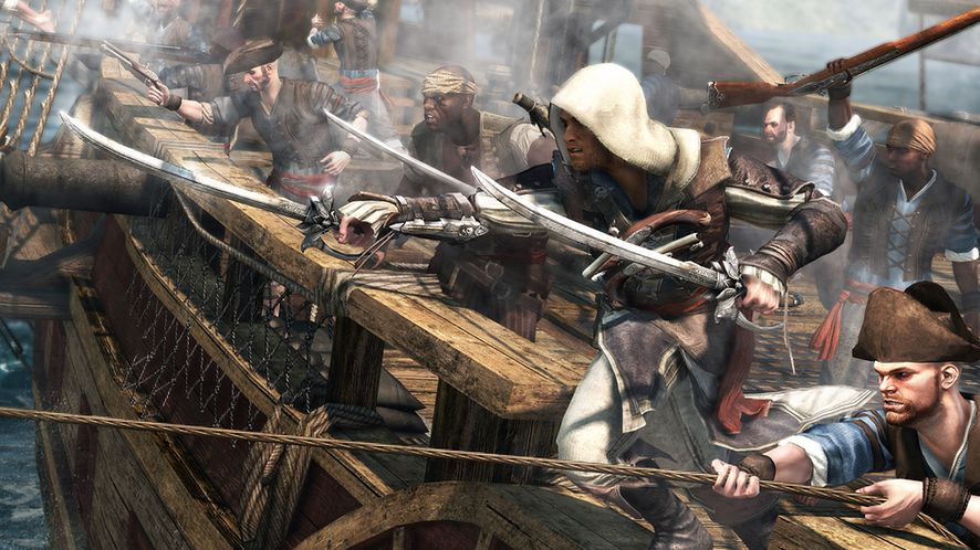 Nowy zwiastun Assassin's Creed IV: Black Flag — Tworzenie otwartego świata nowej generacji