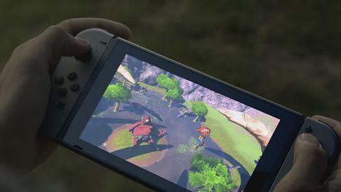 Od frontu Nintendo Switch pokaże nam duży, dotykowy wyświetlacz