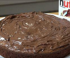 Przepis na ciasto z Nutelli. Potrzebujesz tylko 3 składników