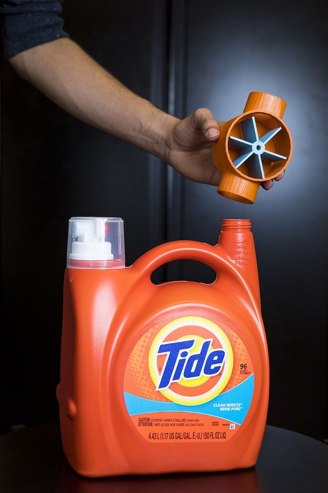 Bezprzewodowy czujnik ilości płynu do prania