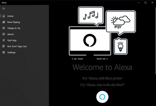 Amazon Alexa w Windows 10, źródło: The Verge