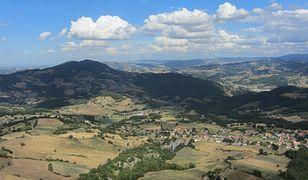 Widok na region Emilia-Romania jest naprawdę malowniczy