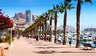 Alicante to jeden z kurortów na wybrzeżu Costa Blanca