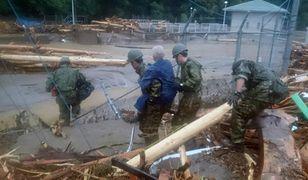 Powódź w Japonii. 400 tys. ewakuowanych, wielu zaginionych
