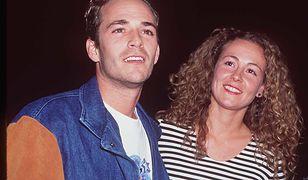 Luke Perry z byłą żoną Rachel Sharp