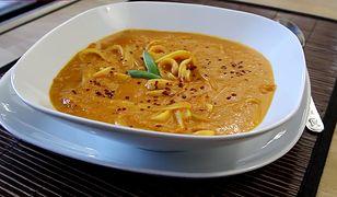 Zupa krem z pomidorów i papryki