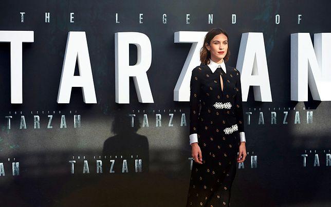 "Alexa Chunga na premierze filmu ""The Legend of Tarzan"""