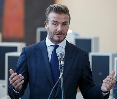Gorąca dyskusja wśród fanów Davida Beckhama. Poszło o jego zdjęcie z córką