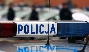 Policja schwytała podejrzanego mężczyznę dzień później