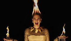 Płonąca Drew Barrymore w Harper's Bazaar
