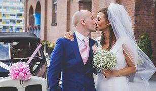 Ich ślub opłacili nieznajomi. U pana młodego zdiagnozowano raka
