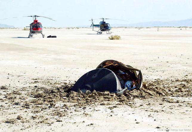 NASA publikuje zdjęcia z katastrofy