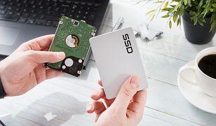 Wymiana dysku HDD na dysk SSD to bardzo dobre rozwiązanie