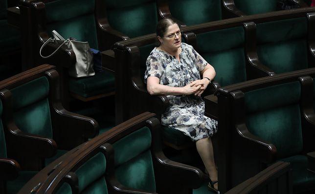"""Zaledwie dzień wcześniej Krystyna Pawłowicz pisała o """"smrodzie"""" w Sejmie"""