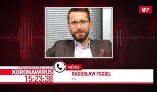 Koronawirus w Polsce. Radosław Fogiel komentuje zapowiedzi samorządowców