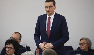 Koronawirus w Polsce. Mateusz Morawiecki w Senacie (zdjęcie ilustracyjne)