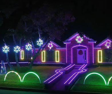 Świąteczne iluminacje amerykańskich domów - hit czy kit?