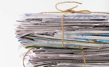 Skandal w Gdyni. Listy od banków na śmietniku