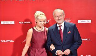 Prezydent Gdyni Wojciech Szczurek z żoną Barbarą na festiwalu filmowym
