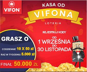 """Loteria promocyjna """"Kasa od Vifona"""""""