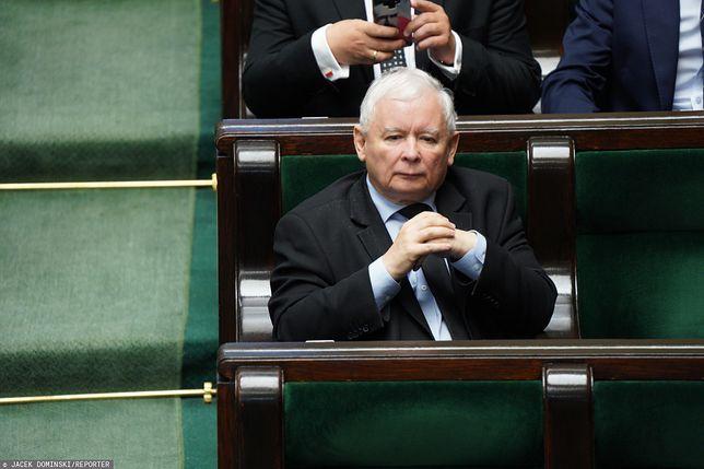 Koalicja PiS zagrożona. Krótka odpowiedź Jarosława Kaczyńskiego