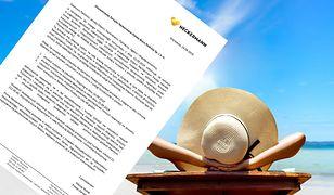Biuro podróży Neckermann Polska wstrzymało sprzedaż wycieczek