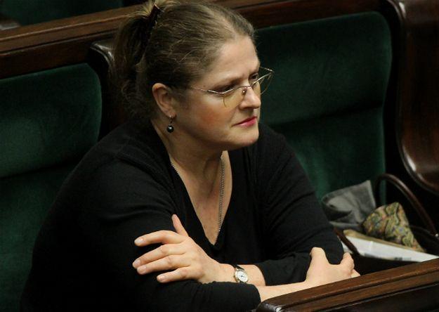 Krystyna Pawłowicz o zachowaniu Joanny Scheuring-Wielgus: następnym razem wezwiemy weterynarza