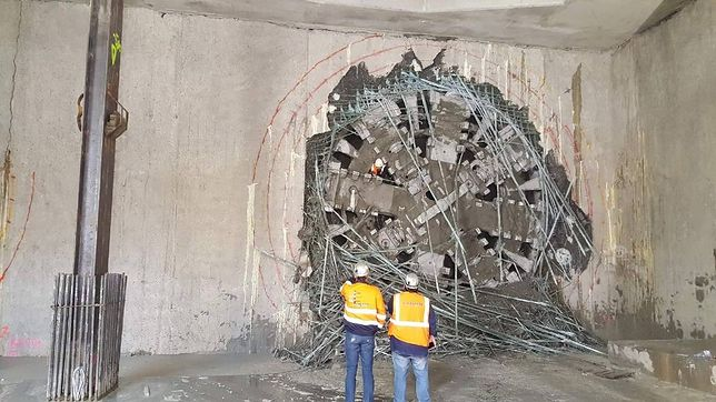 Budowa II linii metra. Tarcza Maria już na Targówku