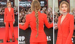 LOOK OF THE DAY: Gigi Hadid i męski szyk