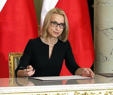 Teresa Czerwińska w 2018 roku została ministrem finansów