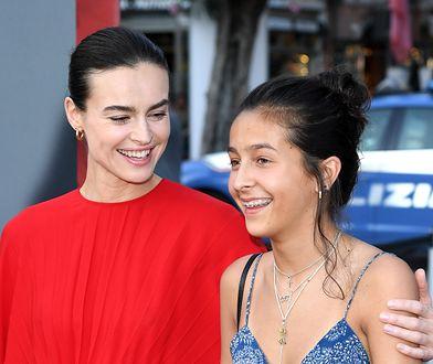 Kasia Smutniak z córką Sophie Taricone