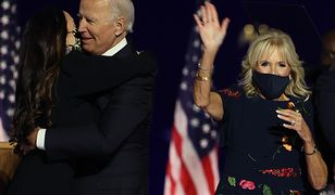 Jill Biden już wyznacza trendy. Sukienka, w której się pojawiła w wieczór wyborczy, wyprzedała się na pniu