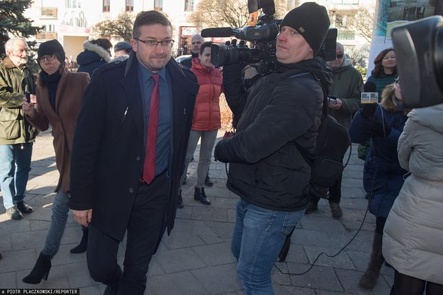 Paweł Juszczyszyn zamierza codziennie przychodzić do sądu. Jego sprawy trafiły do innych sędziów
