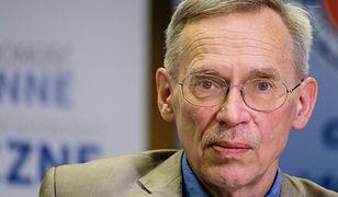 Prof. Gut: Spadek w liczbie zachorowań? To nietypowy tydzień