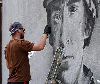 Siemianowice Śląskie. Hołd dla Powstańców Śląskich. Mural na powierzchni pół kilometra kwadratowego