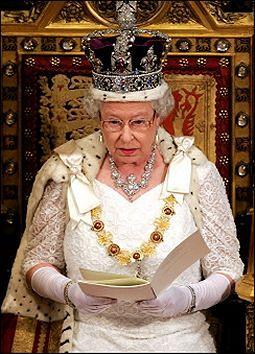 Elżbieta II przedstawiła program Blaira na trzecią kadencję