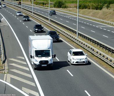 Wypadek na S8 w Sycowie. Nie żyje mężczyzna